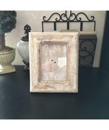 """DISTRESSED WOOD Picture Frame 11"""" x 8.5"""" COUNTRY SHABBY CHIC RUSTIC FARM... - $12.86"""