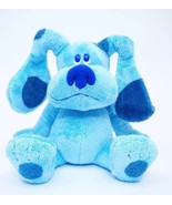 "2006 Ty Beanie Buddies Plush Blues Clues Dog 12"" Toy Large Blue Nickelodeon - $24.99"
