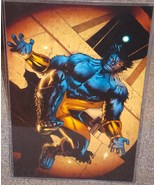 Marvel X-Men Beast Glossy print 11 x 17 In Hard Plastic Sleeve - $24.99