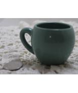 Vintage MINIATURE Aqua/Blue COFFEE/TEA Mug - $0.00