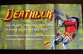 "MARVEL COMICS ""DEATHLOK"" PROMO POSTER 1991 - $4.99"