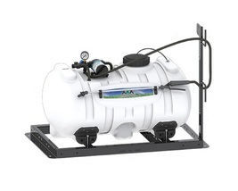 Agriculture Skid Sprayer 40 Gallon with 3 GPM Shurflo Pump - $460.16