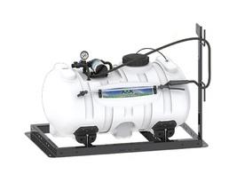 Herbicide 40 Gallon Skid Sprayer with 3 GPM Shurflo Pump - $460.12