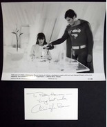 CHRISTOPHER REEVE (SUPERMAN 2) ORIGINAL AUTOGRAPH (SUPER CLASSIC ) - $495.00