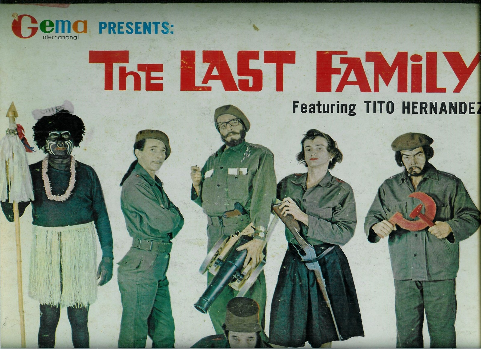 Primary image for THE  LAST  FAMILY  FEATURING  * TITO HERNANDEZ *  CUBAN COMEDY IN ENGLISH - LP