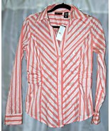 """NEW YORK & CO. Shirt Blouse Size Medium BUST 38"""" with Factory Tag - $7.95"""