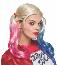 Rubies Harley Quinn Suicide Squad Adult Womens Halloween Costume Wig 33608 - $17.84