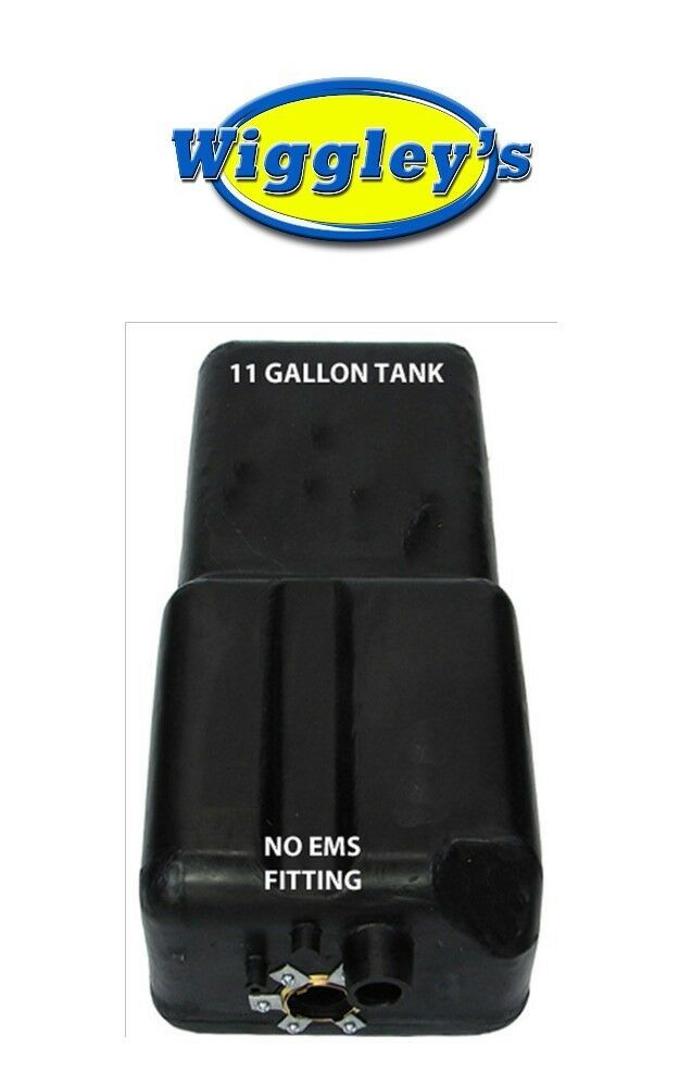 PLASTIC FUEL TANK MTS 4239 FITS 66 67 68 69 70 FORD BRONCO 11 GAL FRONT W/O EMS