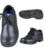 Boys Toddler Youth Faux Leather Loafer Lace Up ... - $23.95