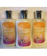 Bath And Body Works Forever Sunshine Lotion x3 *FREE SHIPPING