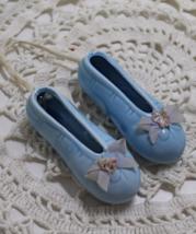 Vintage Miniature BALLERINA Slippers,Tiny Decorative Porcelain Shoes, - $10.00