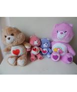 4 vintage Plush Care Bears Harmony, Best Friend, Love a lot, Tender Hear... - $12.82