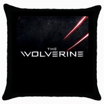 Heroes The Wolverine Black Throw Pillow Case Ho... - $15.00