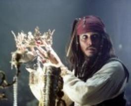 Pirates of the Caribbean Crown Johnny Depp 8X10 Color Movie Memorabilia ... - $6.99