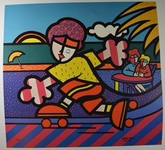 "Valter Morias  ""SKATER"" Hand signed and numbere... - $98.01"