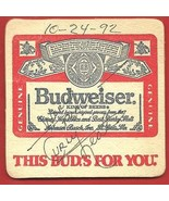 CURLY  NEAL   HAND  SIGNED  AUTOGRAPHED   COASTER   !! - $34.99