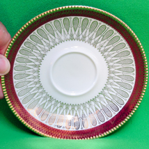 Elegant Mid-Century Winterling (Bavaria) Roslau Saucer (Sorry, No Cup) - $7.95