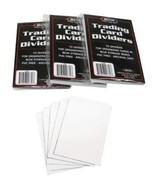 BCW Brand Trading Card Divider Cards 3-10 Packs - $10.77