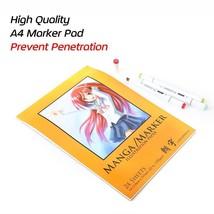 Marker Pad Watercolor Book Paper Designer Coloring Design For Sketch Dra... - $21.49