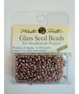 Mill Hill Glass Seed Beads for Needlework Projects 00556 Antique Silver - $1.25