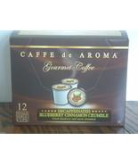 Prem. Decaf.Blueberry Cinnamon Coffee 12 Single... - $9.99