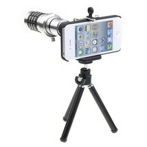 12X Optical Zoom Lens Camera Telescope Tripod Case Cover For Apple iPhon... - $42.83 CAD