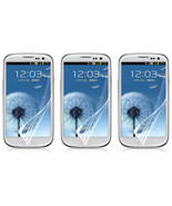 3X Clear Crystal LCD Screen Protector Guard Shield For Samsung Galaxy S3... - $6.99