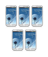 5X Clear Crystal LCD Screen Protector Guard Shield For Samsung Galaxy S3... - $7.99