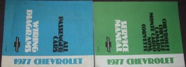 1977 Chevrolet Monte Carlo Service Repair Shop Manual Set W Wiring Diagrams - $128.65