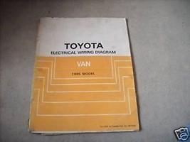 1985 Toyota Van Electrical Wiring Diagram Troubleshooting Manual EWD OEM - $74.20
