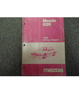 1986 Mazda 626 Electrical Wiring Diagram Service Repair Shop Manual Fact... - $49.59