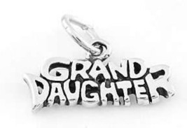 925 STERLING SILVER GRAND DAUGHTER CHARM/PENDANT - $9.99