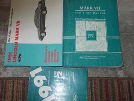 1991 Lincoln Mark VII Service Repair Shop Manual SET W SPECS PCED & EVTM... - $187.06