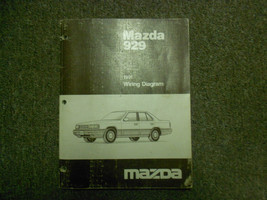 1991 Mazda 929 Electrical Wiring Diagram Service Manual OEM 91 - $14.80