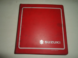 1991 Suzuki Gv1200 Gl Service Repair Manual Binder Stained Factory Oem Book 91 - $39.56