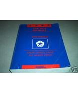 1993 Dodge Ram Van Wagon Service Repair Shop Manual FACTORY OEM BOOK 93 - $79.19