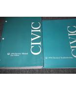 1994 HONDA CIVIC Service Shop Repair Manual Set NEW W Wiring Diagram EWD... - $168.25