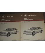 1994 Lexus GS300 GS 300 Service Repair Manual Set DEALERSHIP BOOKS HUGE 94 - $296.99