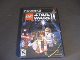 LEGO Star Wars II: The Original Trilogy (Sony PlayStation 2, 2006) Black Label - $28.04
