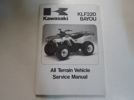 1996 1997 1998 1999 Kawasaki Klf220 Bayou Atv Service Repair Manual New Factory - $138.55