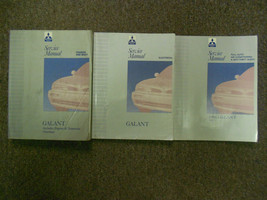 1996 MITSUBISHI Galant Service Repair Shop Manual 3 VOL SET FACTORY OEM ... - $188.05