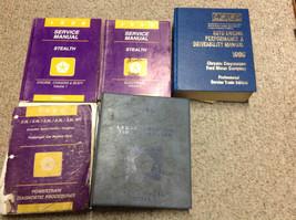 1996 Dodge Stealth Service Repair Shop Workshop Manual Set W Lots Powertrain + - $44.55