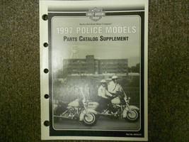 1997 Harley Davidson Police Models Parts Catalog Supplement Manual NEW 1997 - $98.99