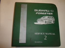 1998 Subaru Forester Service Repair Shop Manual VOL 2 WATER DAMAGED FACT... - $59.35