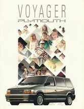 1991 Plymouth VOYAGER brochure catalog GRAND US 91 SE LE - $6.00