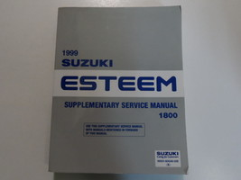 1999 Suzuki Esteem 1800 Supplementary Service Repair Manual FACTORY OEM BOOK x - $79.15