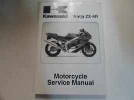 2000 2001 2002 Kawasaki Ninja ZX-6R Motorcycle Service Repair Shop Manual NEW - $138.59