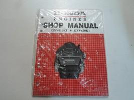 2000 2001 Honda Engines Gxv610 K1 Gxv620 K1 Shop Manual New Factory Oem Book 00 01 - $28.66