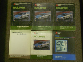 2000 MITSUBISHI ECLIPSE Repair Shop Service Manual Set FACTORY DEALERSHI... - $362.29