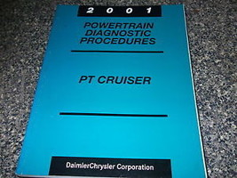 2001 Chrysler PT Cruiser Powertrain Diagnostic Procedure Manual FACTORY OEM BOOK - $9.80